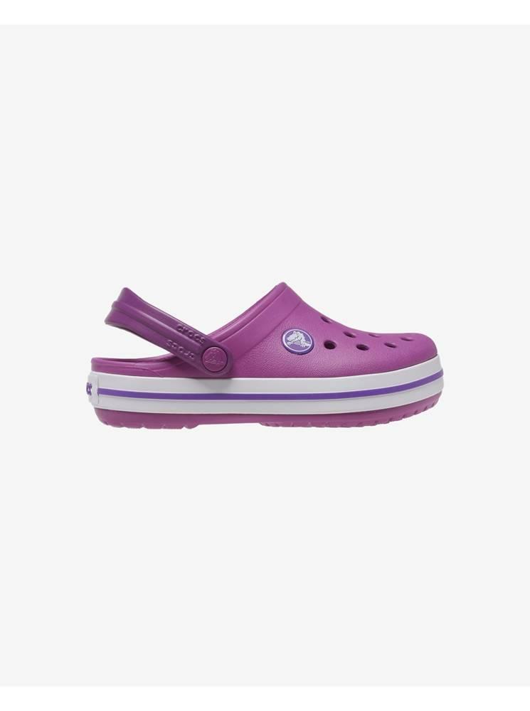 Crocs fialová