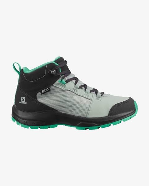 Sivé topánky Salomon