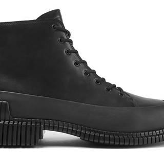 Topánky  Pix Smart Lace Up Black Shoe