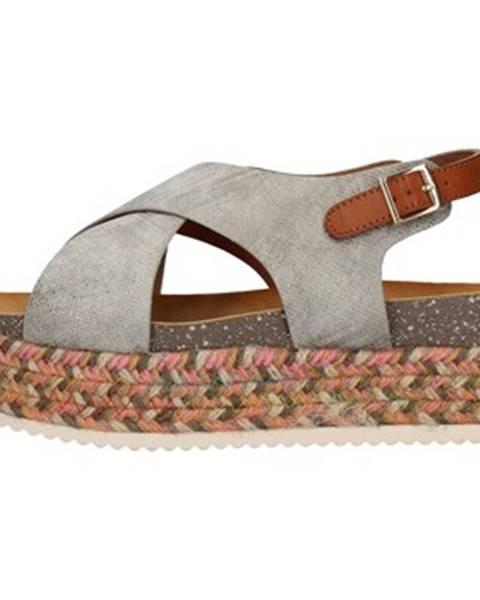 Strieborné sandále Refresh