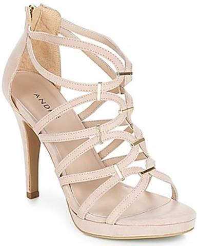 Béžové sandále André