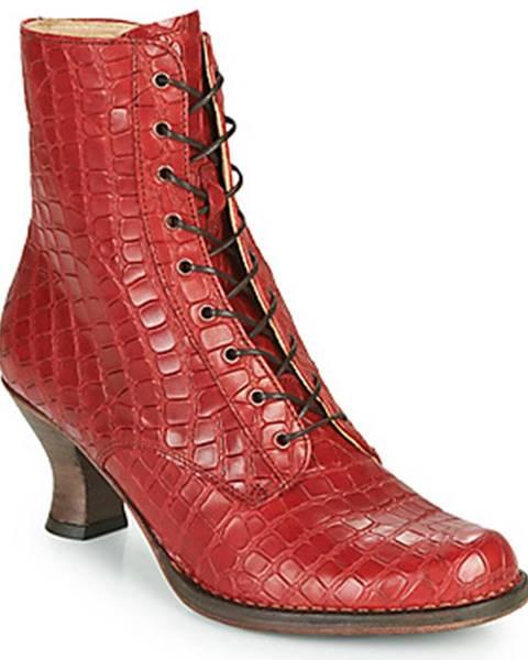Červené topánky Neosens