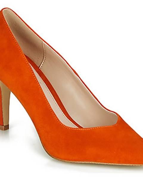 Oranžové lodičky André