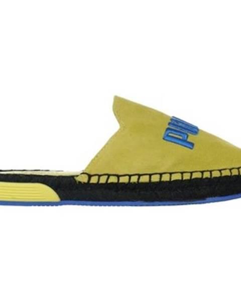 Žlté topánky Puma