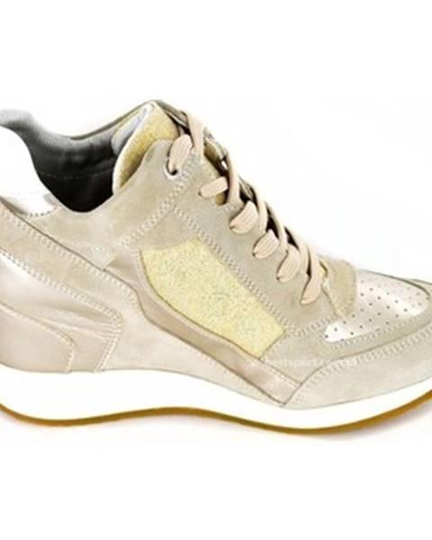 Zlaté tenisky Geox