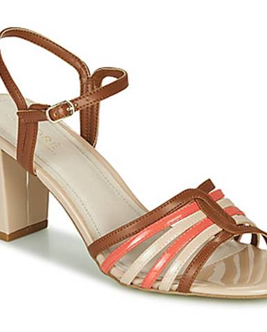 Viacfarebné sandále André