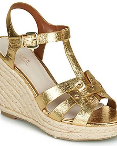 Zlaté sandále André