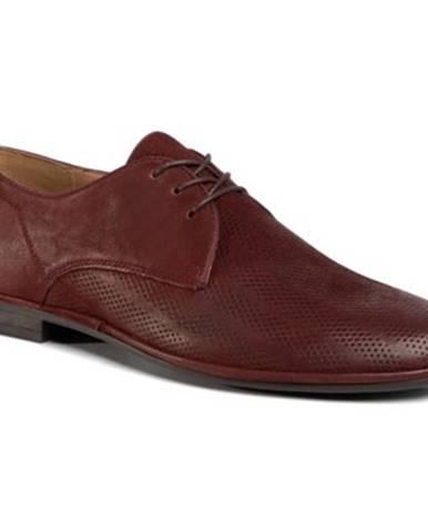 Bordové topánky Lasocki for men