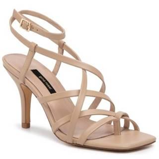 Sandále  119AL3903 koža(useň) lícová