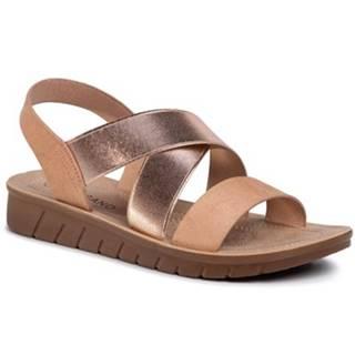Sandále  WSL996-32 materiál pokrytý iným materiálom,Materiał tekstylny