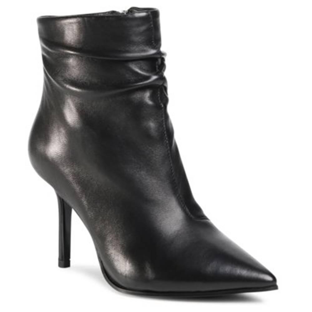 Gino Rossi Premium Členkové topánky Gino Rossi Premium V356H2-3461 koža(useň) lícová