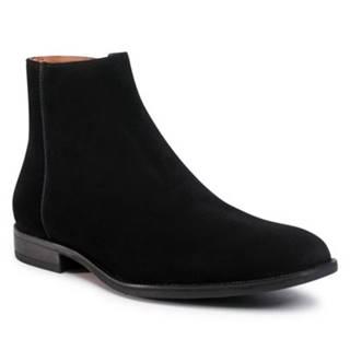 Členkové topánky  MI08-C796-798-03 koža(useň) zamšová