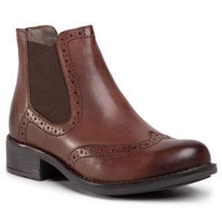 Členkové topánky  WI23-BEECH-01 koža(useň) lícová