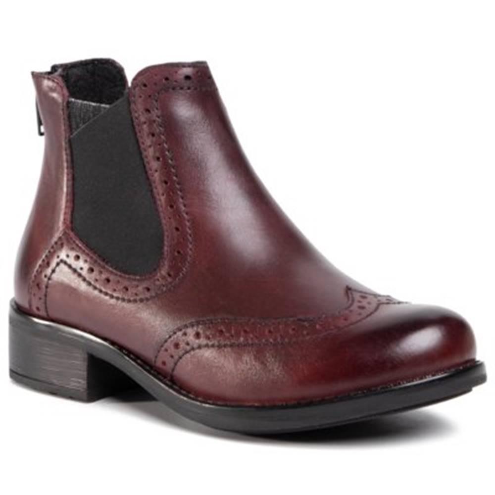 Lasocki Členkové topánky  WI23-BEECH-01 koža(useň) lícová