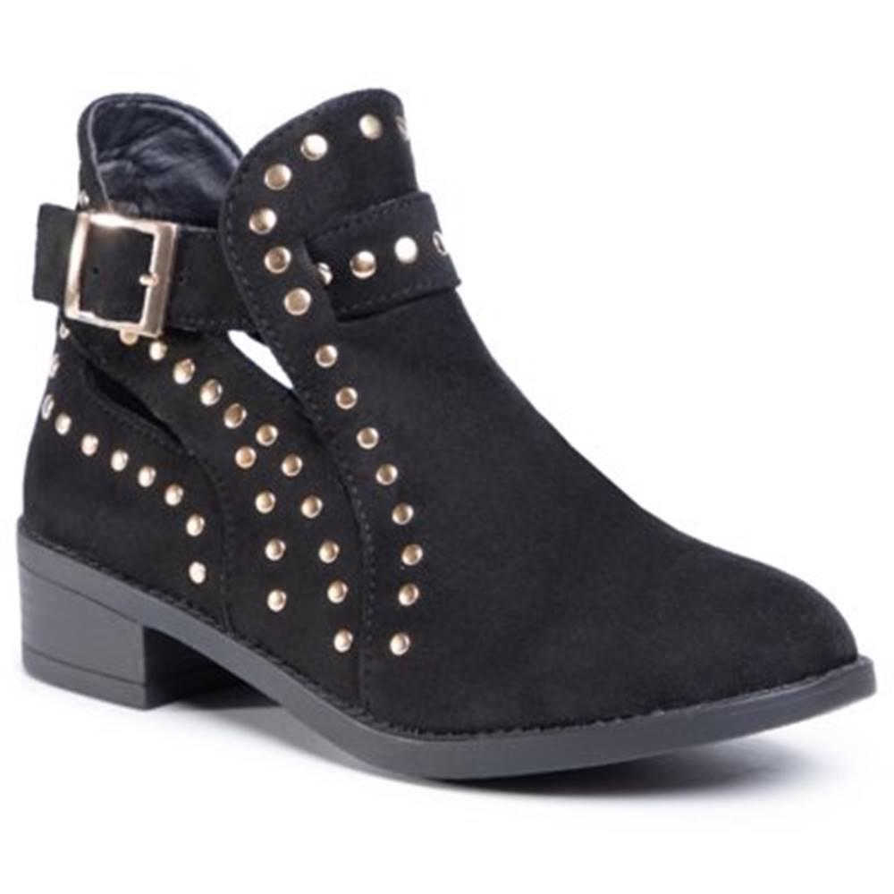 DeeZee Členkové topánky  WYL2263-3 Materiał tekstylny
