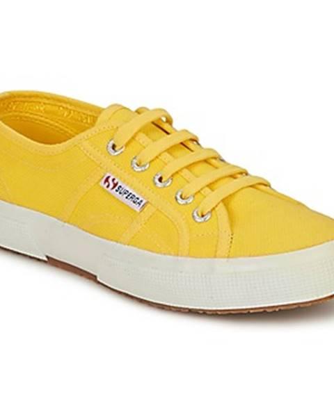 Žlté tenisky Superga