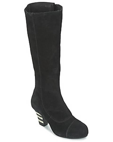 Čierne čižmy Lola Ramona