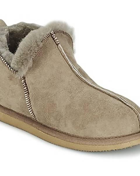Hnedé papuče Shepherd