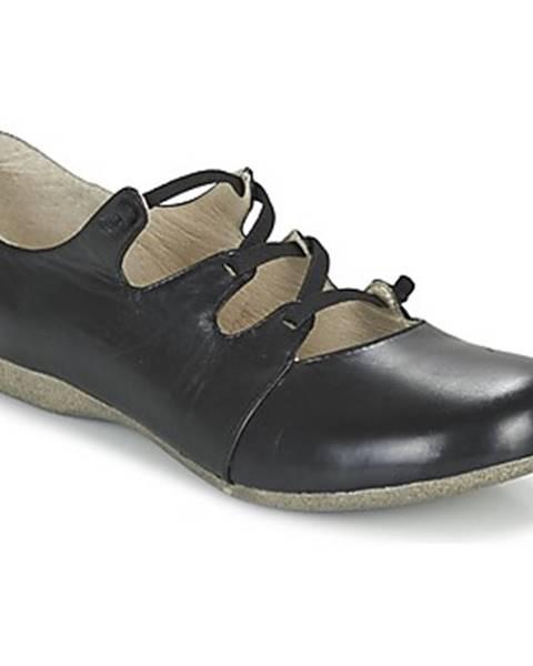 Čierne topánky Josef Seibel