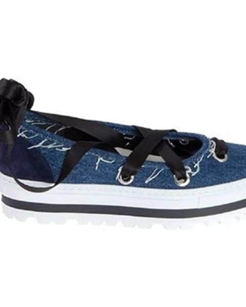 Modré topánky Msgm