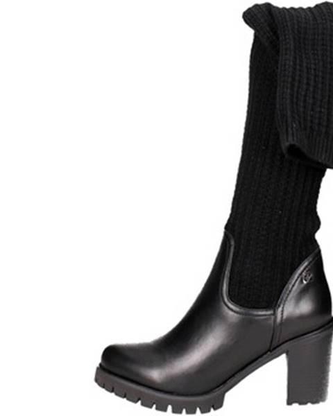 Čierne čižmy Braccialini