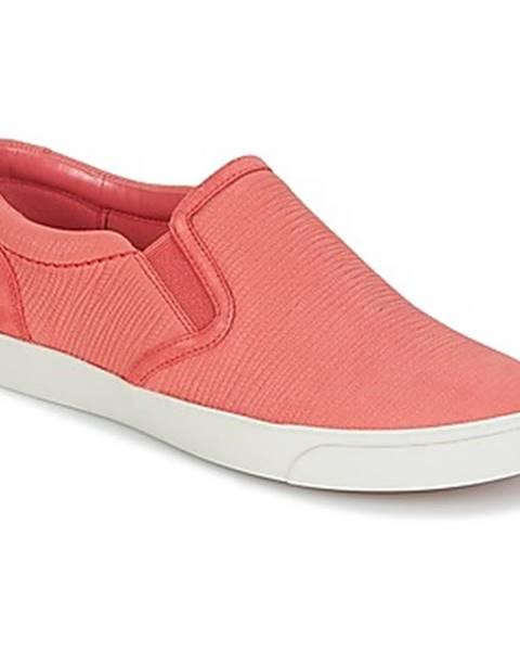 Ružové topánky Clarks