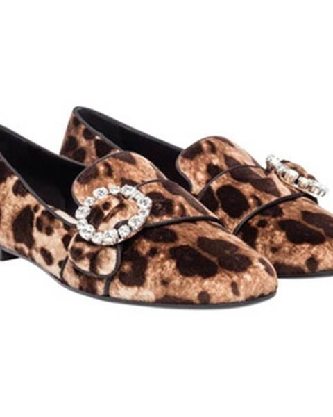 Hnedé topánky D G