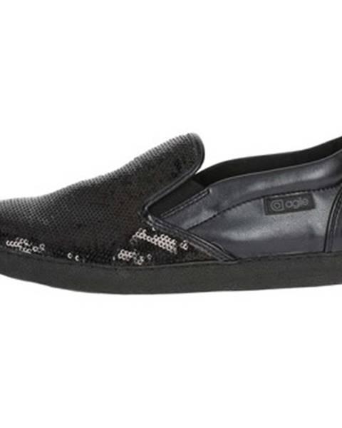 Čierne topánky Agile By Ruco Line