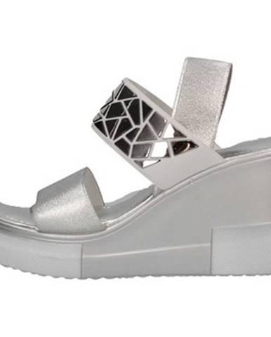 Strieborné topánky Cromia