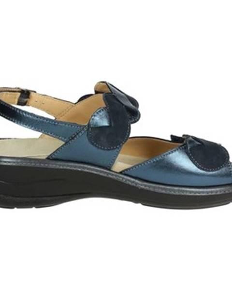 Modré topánky Novaflex
