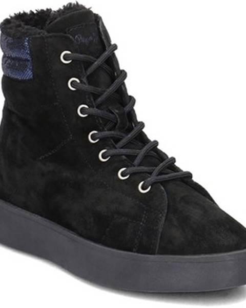 Viacfarebné topánky Pepe jeans