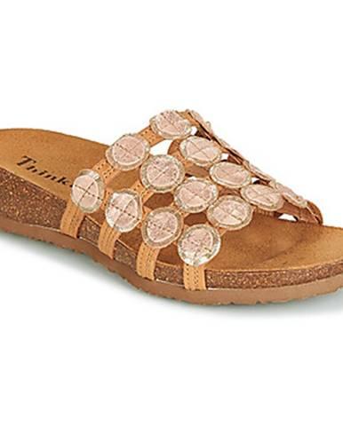 Žlté topánky Think
