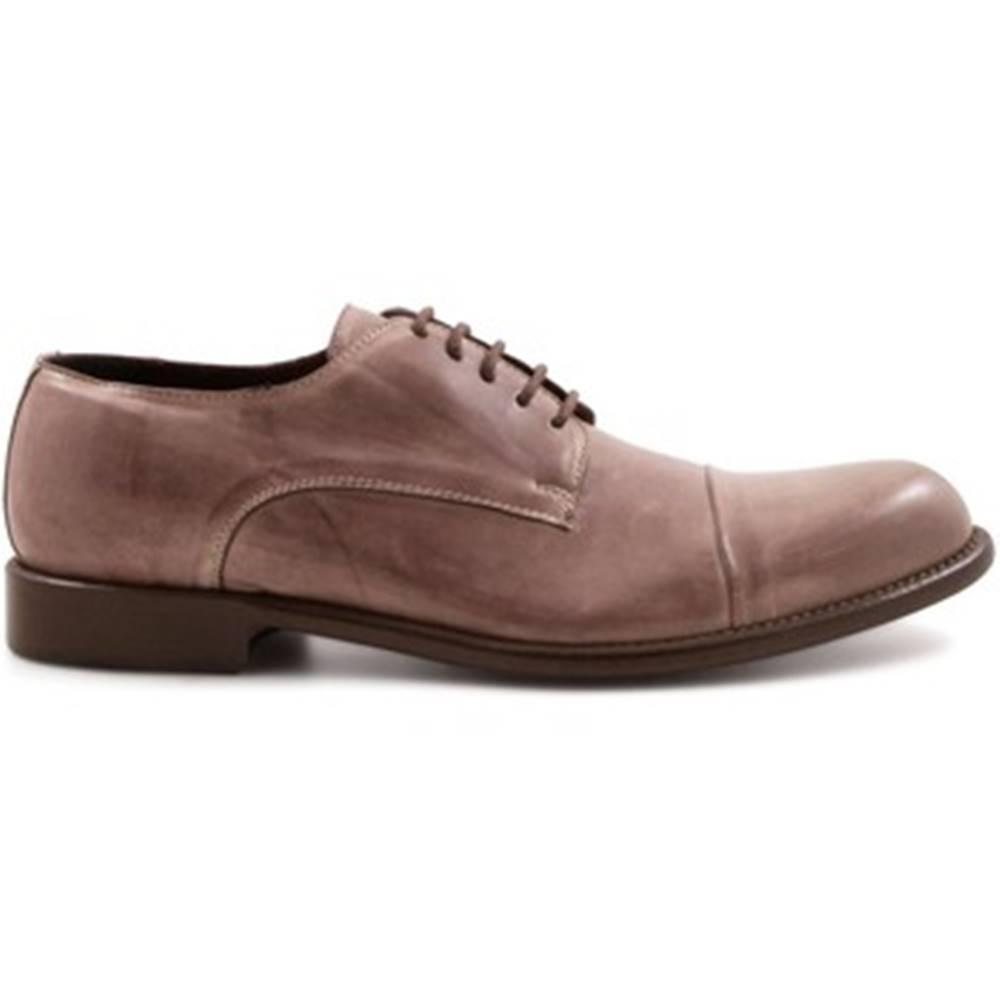Leonardo Shoes Derbie  2463/13 PAPUA TORTORA