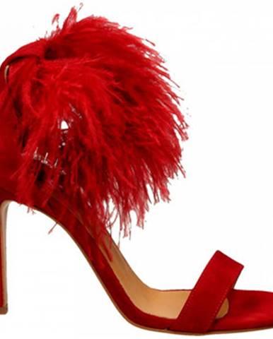 Červené topánky Aniye By