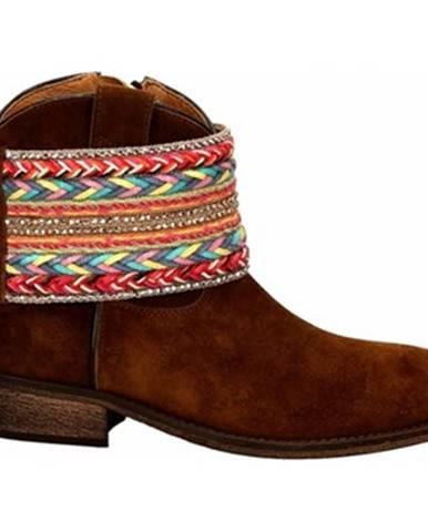 Hnedé topánky Via Roma 15