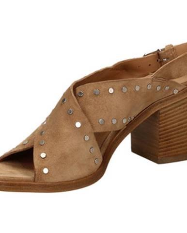 Béžové topánky Janet Janet