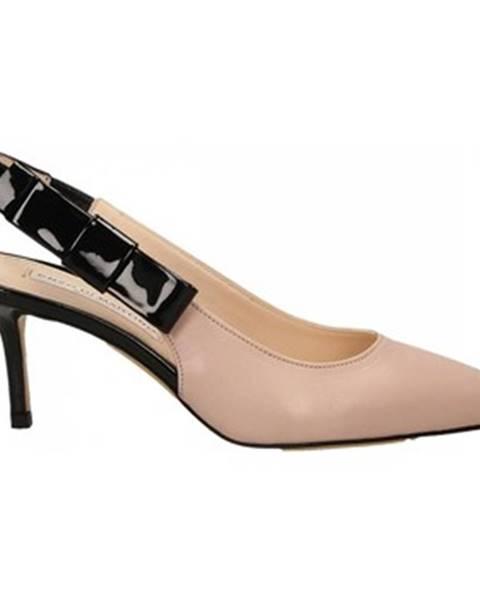 Čierne topánky Enzo Di Martino