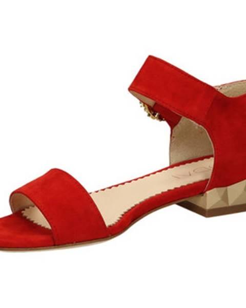 Červené topánky Todai