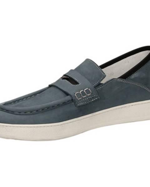 Modré topánky Guardiani