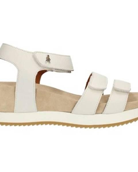 Biele topánky Benvado