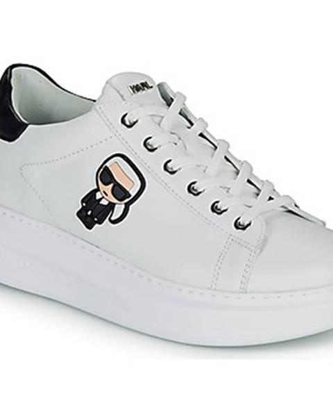 Biele tenisky Karl Lagerfeld