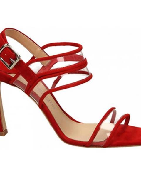 Červené topánky The Seller