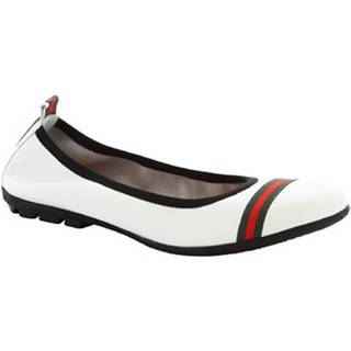 Balerínky/Babies Leonardo Shoes  5618 G/SOSIA NAPPA BIANCO