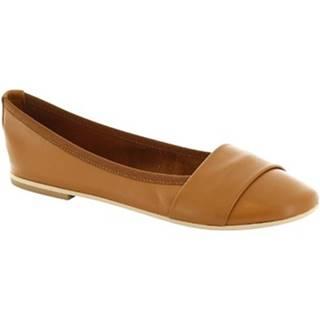 Balerínky/Babies Leonardo Shoes  571-17/MICRO NAPPA CUOIO