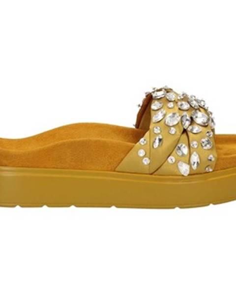 Žlté topánky Luciano Barachini