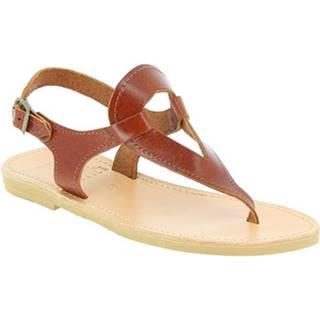 Sandále Attica Sandals  ARTEMIS CALF DK-BROWN