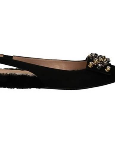 Čierne topánky Alberto Gozzi