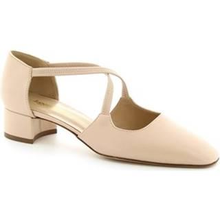 Lodičky Leonardo Shoes  9203 NAPPA CIPRIA