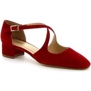 Sandále Leonardo Shoes  8104 CAMOSCIO ROSSO