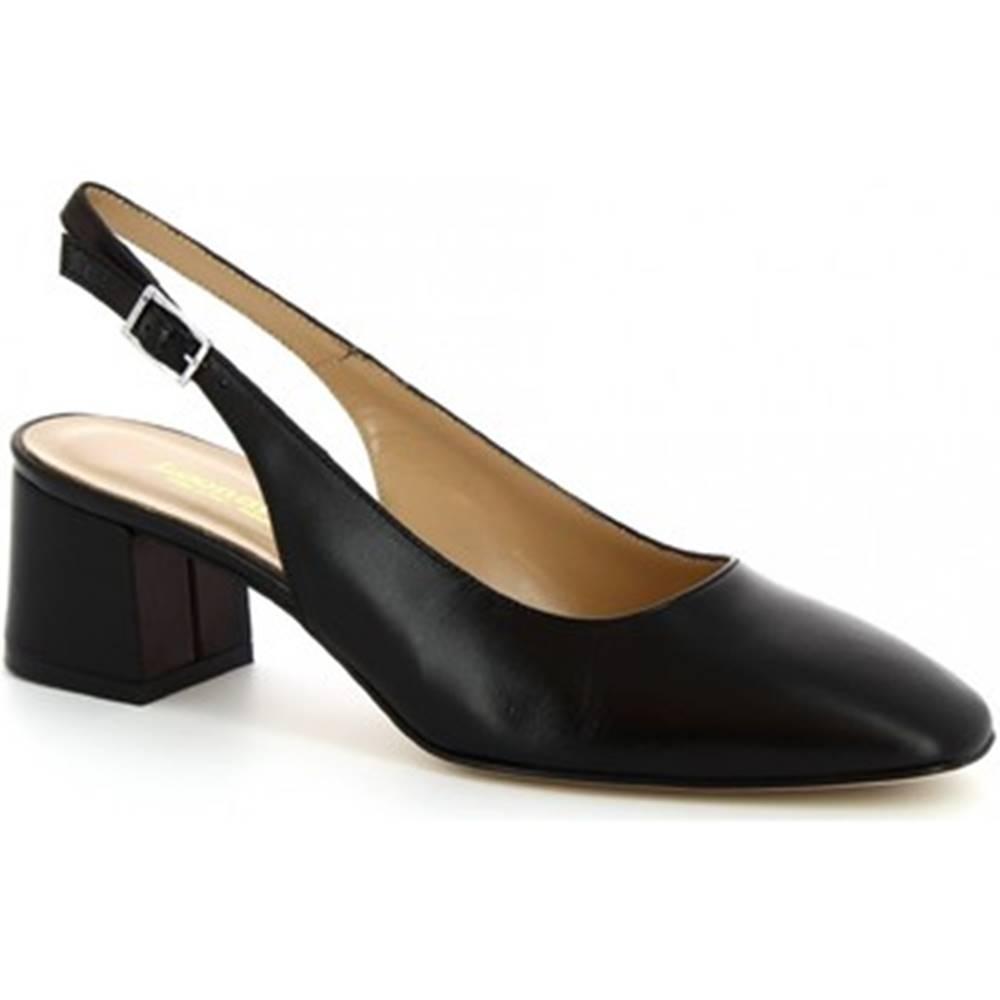 Leonardo Shoes Sandále Leonardo Shoes  9209 NAPPA NERO